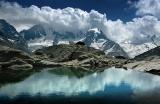 Festsaal der Alpen: Blick von der Fuorcla Surlej zu den Bernina-Bergen