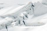 Séracs unterhalb der Bellavista, Bernina-Alpen, Schweiz