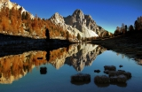 Grünsee und Eisengabel, Fanes, Dolomiten